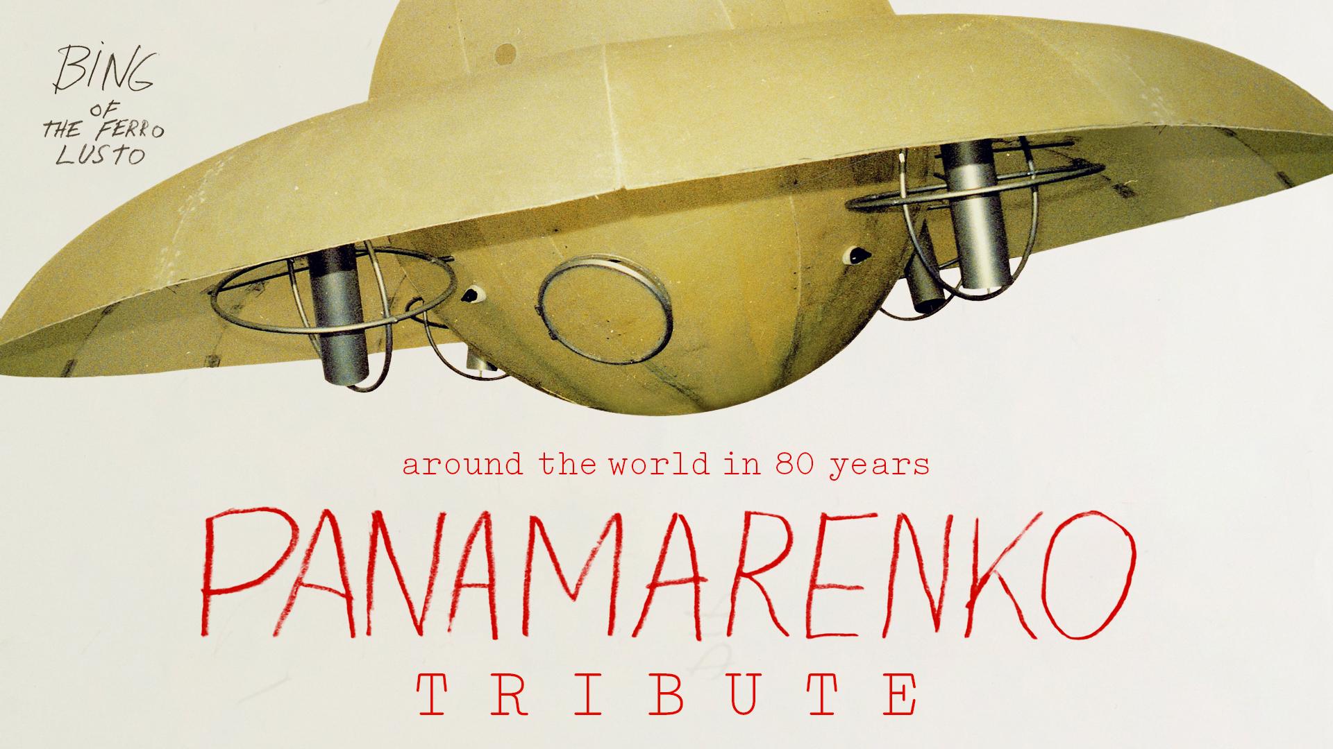 Panamarenko Tribute